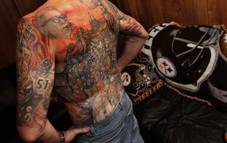Best Steeler Tattoo Ever. Via Deadspin. Wow.
